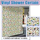 Shower Curtain with Hooks (Hong Kong)