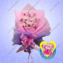 9 Little Piglets Cartoon Bouquet (China continental)
