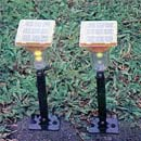 Solar Rechargeable Super Bright LED Yellow Light  (Hong Kong)