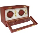 Leather Double Watch Winder (Hong Kong)