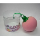 Bath Sponge Massager In Peach Shape  (Hong Kong)