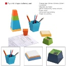 Pyramid Shape Stationery Set (Hong Kong)