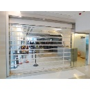 Dynamic Vision Crystal-Clear Transparent Security Shutter (Hong Kong)