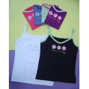 Ladies' Fashionable Cotton Knitted Vests (Hong Kong)