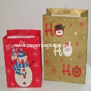 Fashion Christmas Paper Gift Bag  (Mainland China)