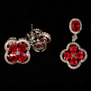 18K White Gold Jewelry Set (Hong Kong)