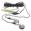 Earbud Style Stereo Computer Headset (Hong Kong)