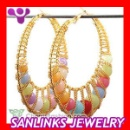 Alloy ABS Bamboo Earrings (Mainland China)