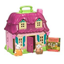 Doll House Playset with Story Book (Hong Kong)