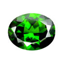 Chrome Diopside Gemstone (Hong Kong)