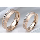 Rose Gold Wedding Bands Set (Hong Kong)
