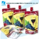 Plastic Liquid Stand up Pouch with Spout for Beverage Packaging (Mainland China)