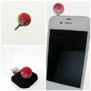 925 Silver Color Bead for iPhone (Hong Kong)