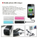 USB Mobile Phone Charger 2200mAh (Hong Kong)