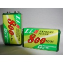 9V Rechargeable Lithium Battery (Taiwan)