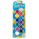 12 Colors Washable Tempera Paint (Mainland China)