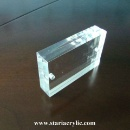 Magnetic Acrylic Photo Block (China)