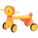 Wooden Trike Lion (Mainland China)