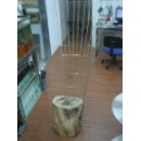 Stainless Steel Chair Mixed with Wood (Hong Kong)