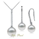 Silver Pearl Jewelry Sets (Mainland China)