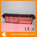 New Product LED Display Board for Bus Window Message Sign (Mainland China)