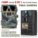 12MP HD 8 In 1 Long Detection Range Scouting Trail Camera with game call function (China)