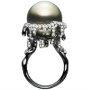 Pearl and Diamond Ring (Hong Kong)
