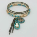 Charming Enamel Bracelet Set with Acrylic (Hong Kong)