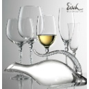 Eisch 10 Carat Handmade Crystal Wine Glass & Decanter (Hong Kong)