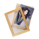 Magnetic Double Wooden Frame  (Taiwan)