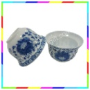 Blue and White Porcelain Tea Set (Hong Kong)