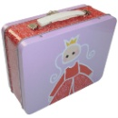 Candy Metal Tin Box with Handle (Mainland China)