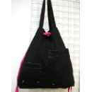 Plain Cotton Drawstring Tote Bag (Hong Kong)