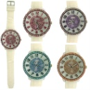 Silicone Banded Sporty Ladies Watch (Hong Kong)