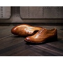 Men's Business Genuine Leather Shoes with Top Quality (China)