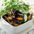 Frozen Steamed Mussel (Korea, Republic Of)
