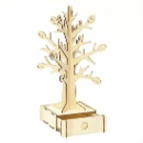 Wooden Puzzle-Tree Jewel Stand (Hong Kong)