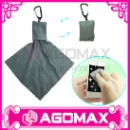 Microfiber Cleaning Cloth for Keychain (Hong Kong)