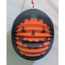 Black Pumpkin Pattern Halloween Lantern (Hong Kong)