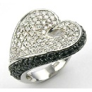 CZ Heart Ring (Hong Kong)