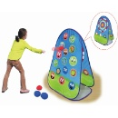 A-Frame 2 in 1 Bean Bag Toss & Catch Dartboard Game (Hong Kong)