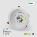 Replaceable Modules 50w Round LED Cob Downlight Convenient For Installation Aluminum Recessed (Mainland China)