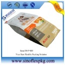 Bottom Plastic Pet Food Bag With Top Resealable Zipper  (Mainland China)
