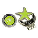 Golf Hat Clip and Ball Marker (Hong Kong)