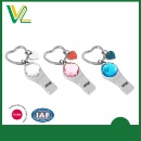 Color Crystal with Tag Whistle Key Chain (Hong Kong)