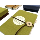 A5 Notebook (linen fabric) (Thailand)