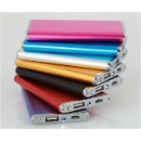 Ultra Thin Slim Portable Power Bank 5000mAh Li-Polymer Aluminum Case (Hong Kong)