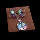 Earring and Necklace Set (China)