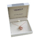 Vicacci Flowers Pendant Necklace (Hong Kong)
