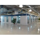 Pharmaceutical factory cleanroom partition (Hong Kong)